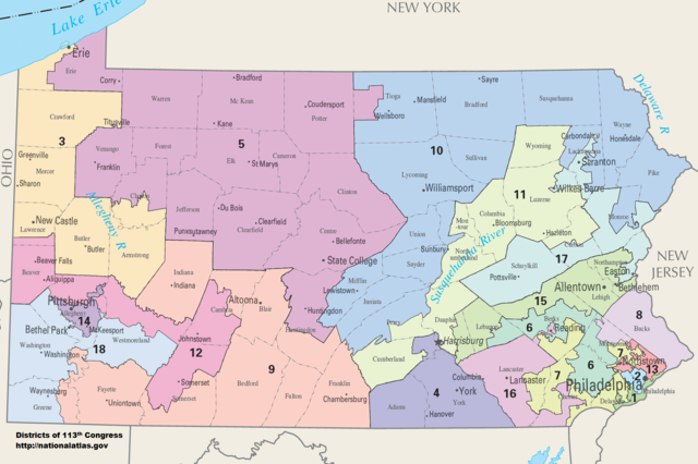 Pa. Supreme Court calls for redrawing of state's district boundaries