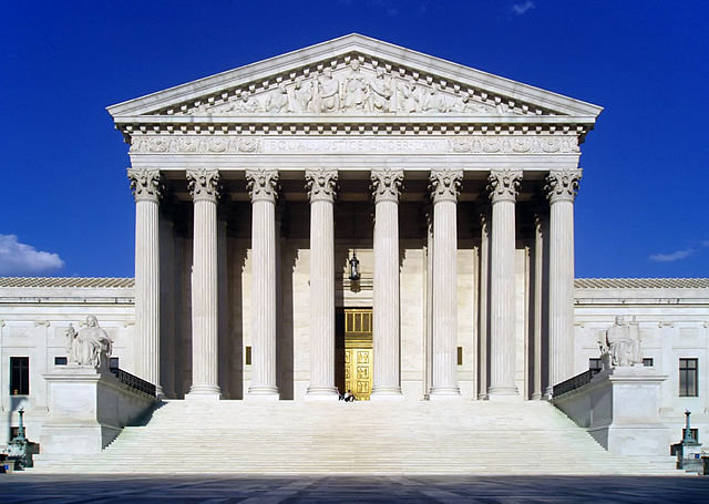 supreme court west facade
