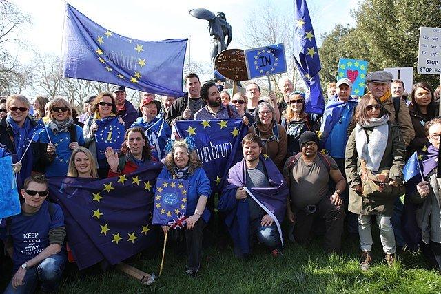 UK Pro-EU protests