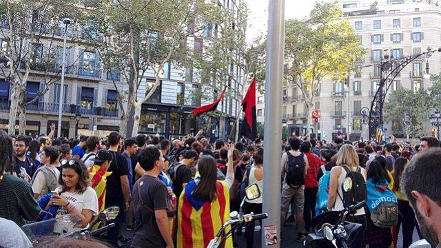 Catalonia Strike