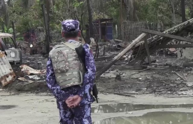 Myanmar builds military bases where Rohingya once lived and prayed - Amnesty
