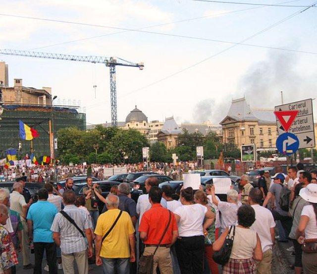 Romania Corruption Protest