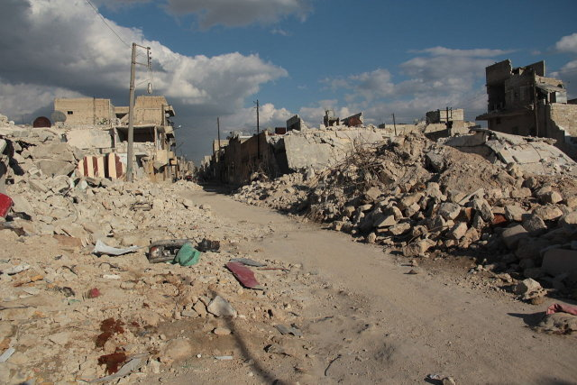 Rubbles of Syria