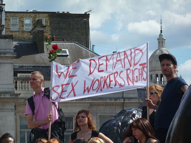 sex workers rights protest