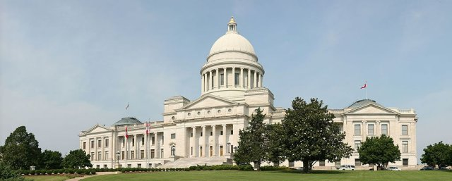 Arkansas State Capitol in Little Rock.