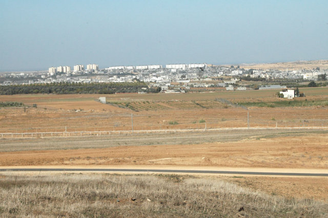 Israel and Gaza border