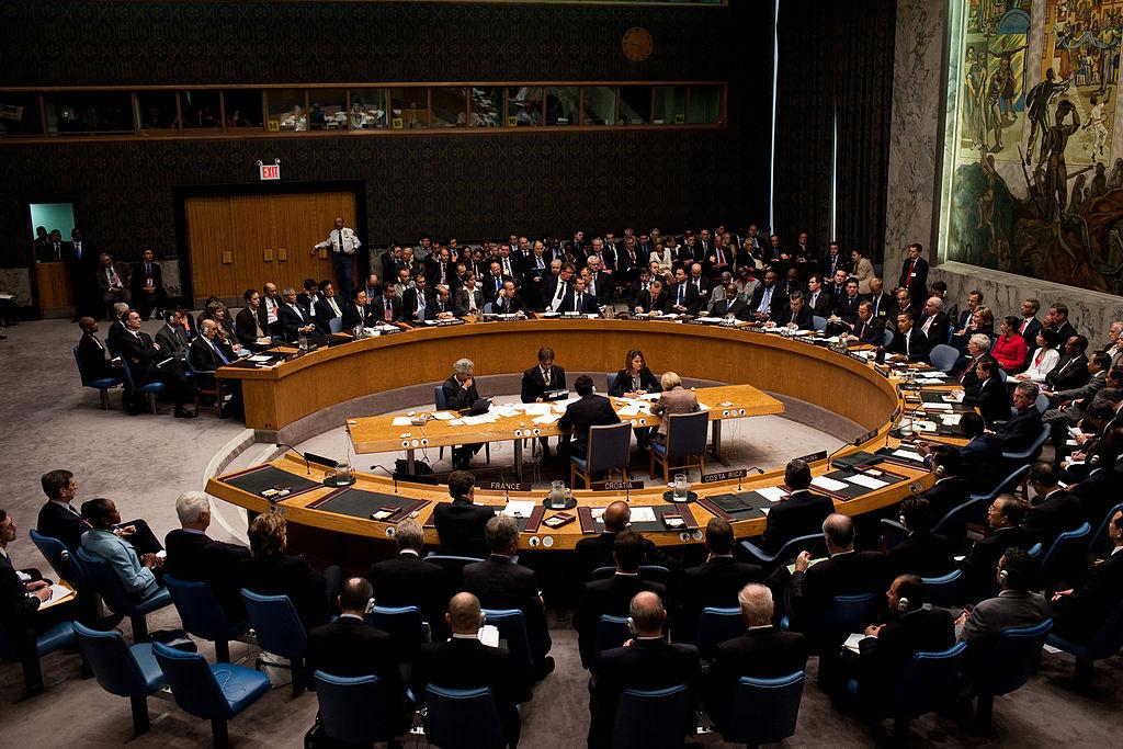 UN urges peaceful solution in Ukraine