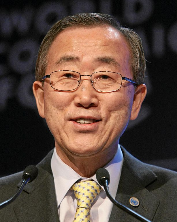UN SG urges countries to sign arms trade treaty