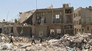 HRW cites evidence Syria used chemical weapons
