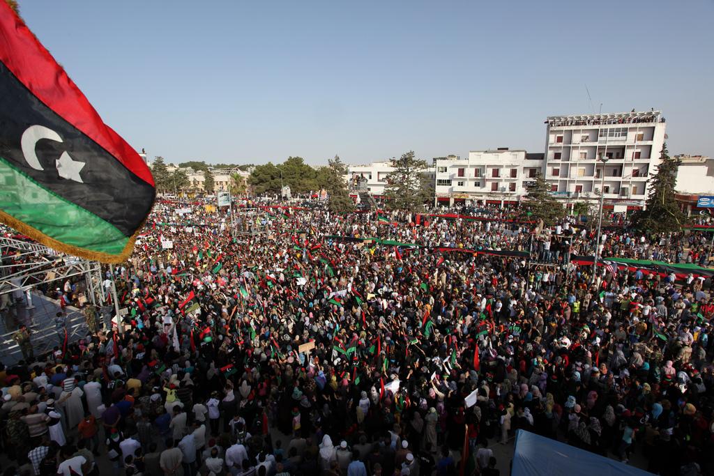 Gaddafi's son appears before Libya court