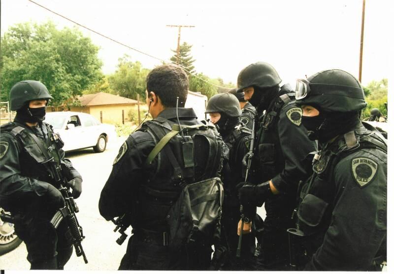 ACLU report criticizes increased police militarization