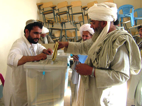 Allegations of election fraud increase tension in Afghanistan