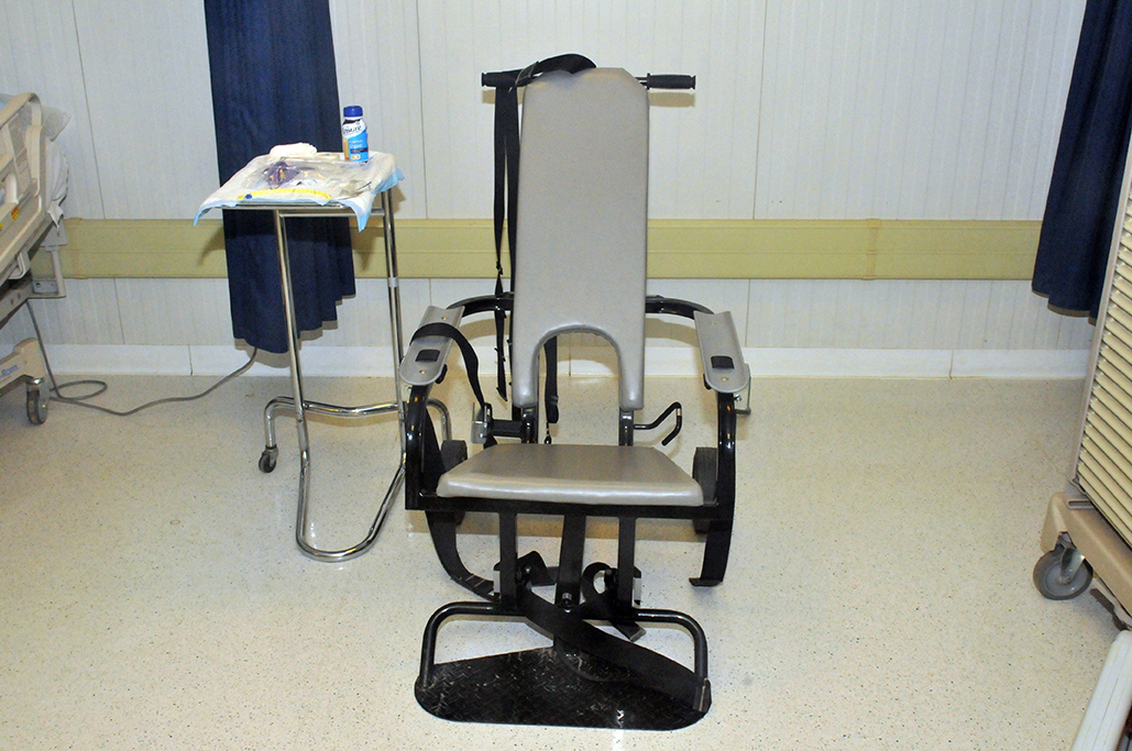 Guantanamo nurse refuses to force feed detainees