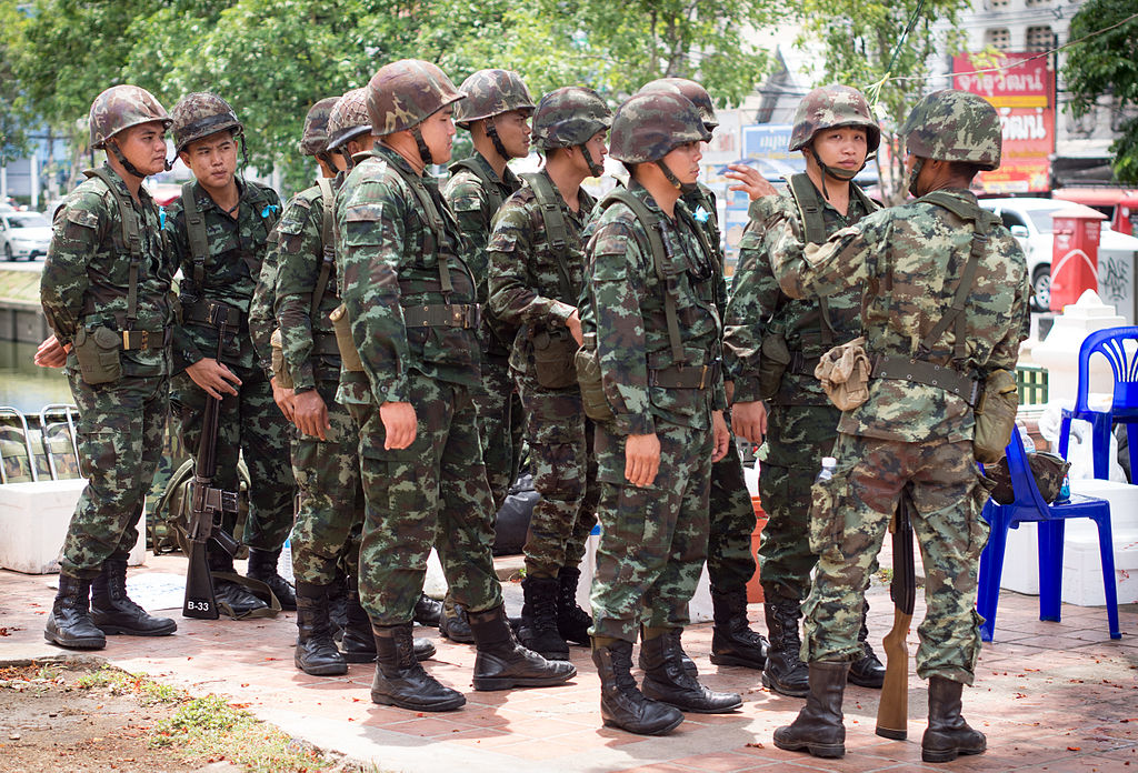 Thailand rights activists call for end to martial law