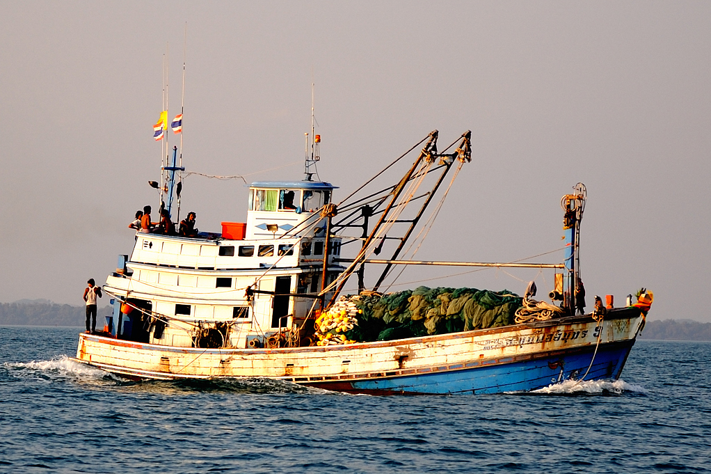 HRW: Thailand government must cancel prisoner fishing boat plan
