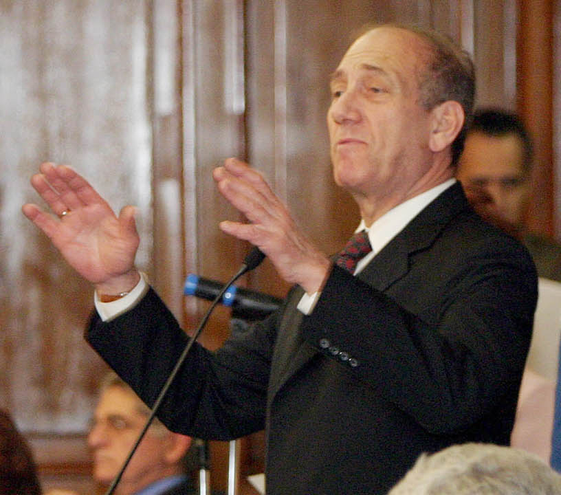 Former Israel PM Olmert convicted of fraud