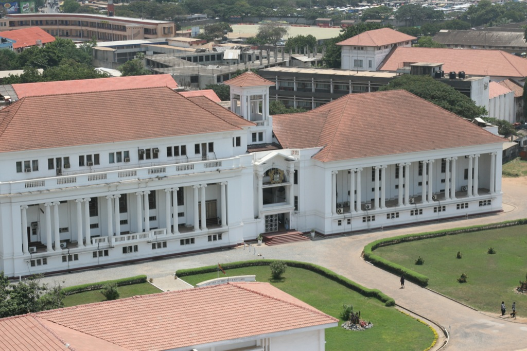 Ghana suspends 22 judges on corruption charges