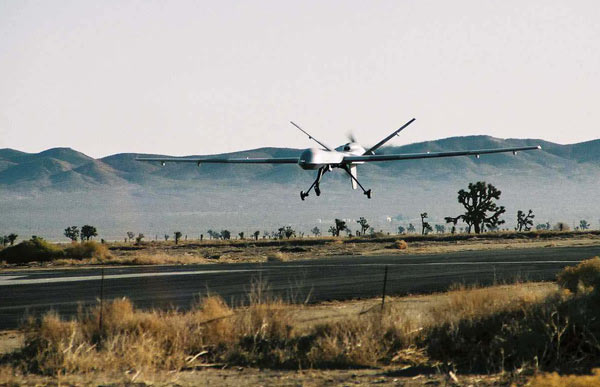 Rights group sues UK for information on Syria drone strikes