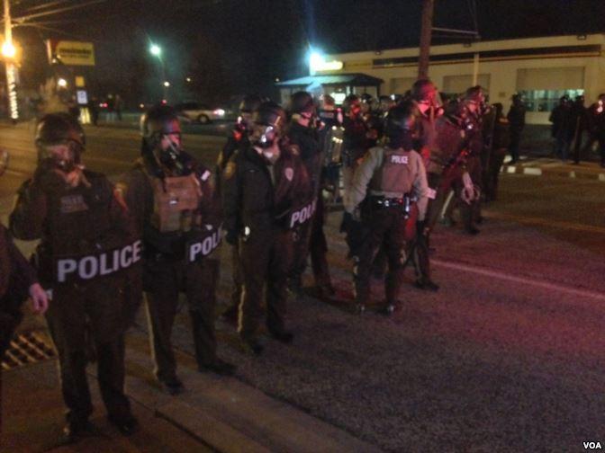 DOJ files civil rights lawsuit against Ferguson