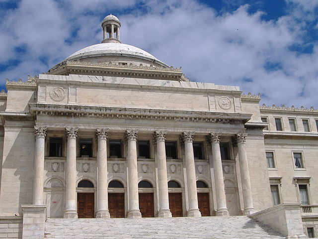 Puerto Rico legislature approves bill for fiscal emergency