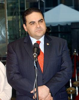 El Salvador ex-president arrested for embezzlement