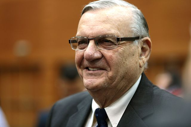 Arizona Sheriff Arpaio charged with criminal contempt