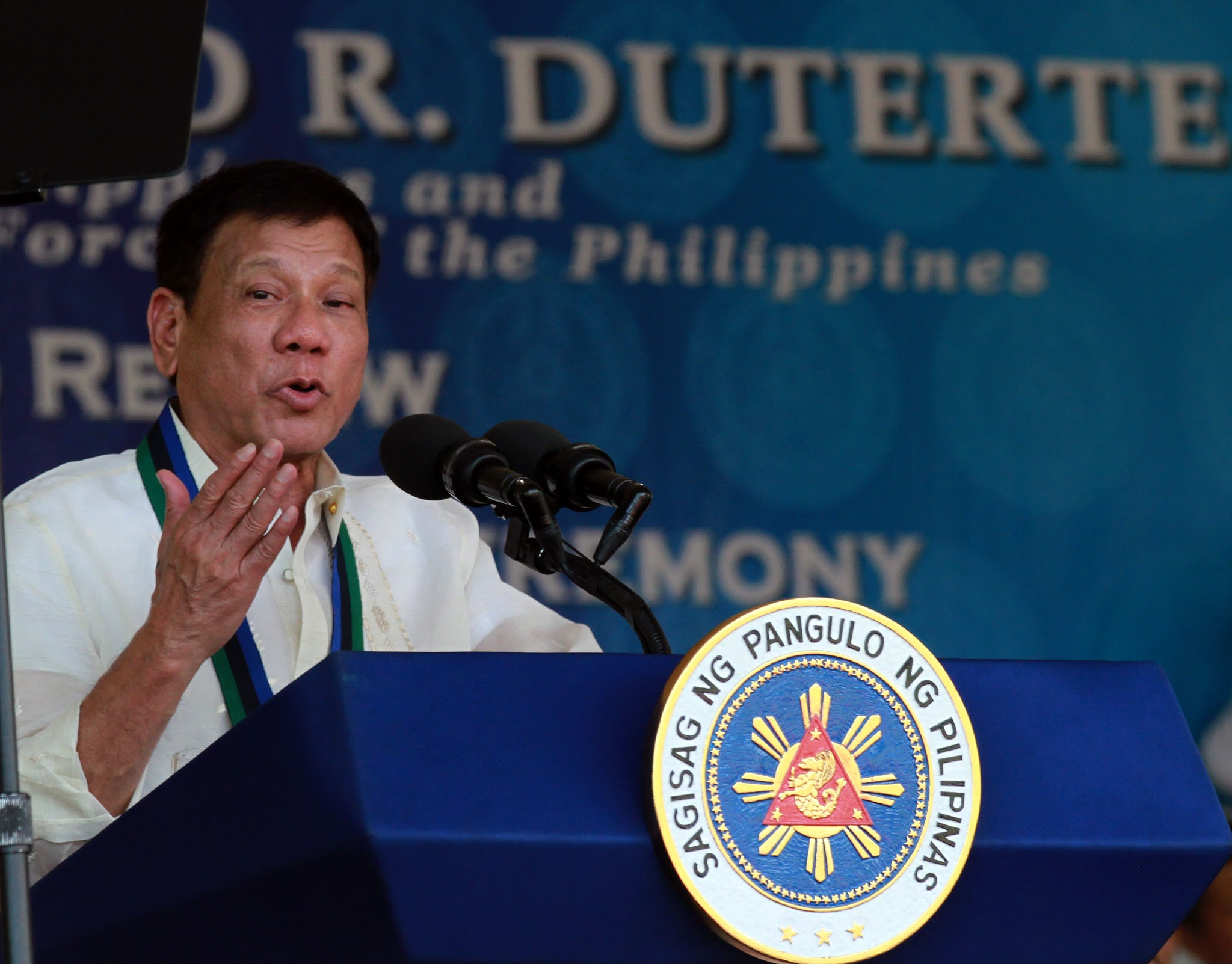UN official condemns Philippines president's Hitler remarks