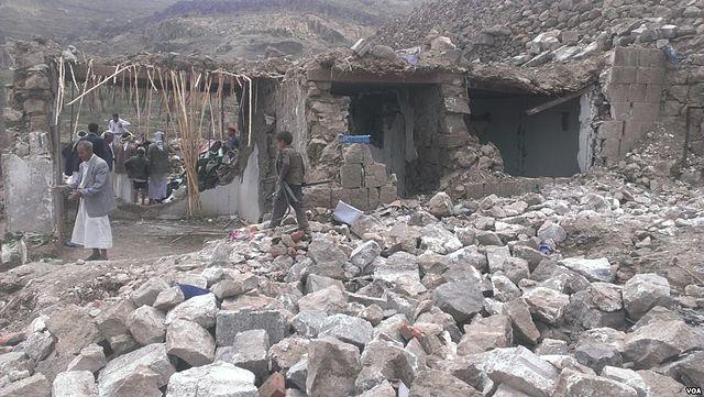 Saudi coalition airstrike kills over 90 in Yemen