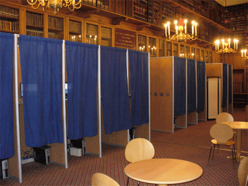Federal judge declines to find GOP engaging in poll intimidation
