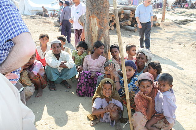 Amnesty: Myanmar military committing crimes against humanity against Rohingya minority