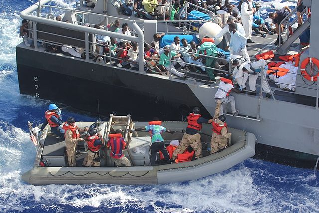 UNICEF calls for protection of migrant women in children on Mediterranean route
