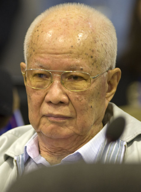 Former Cambodia Head of State denies committing genocide