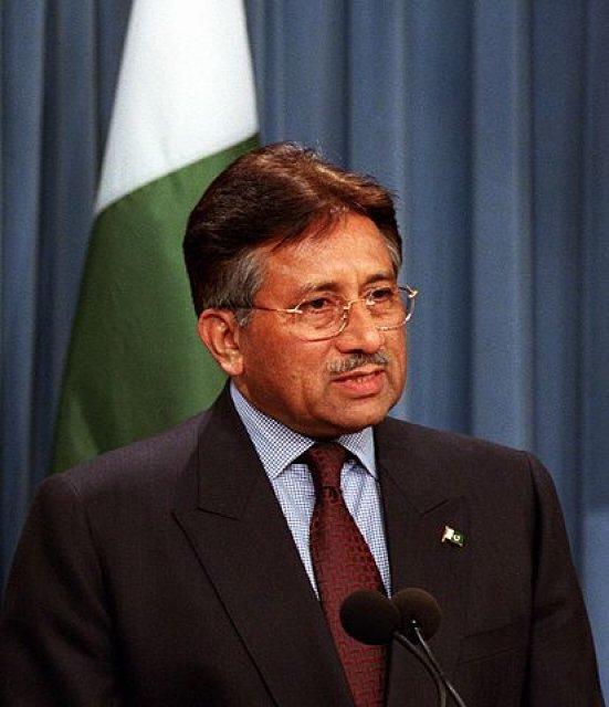 Former Pakistan president Pervez Musharraf declared a fugitive