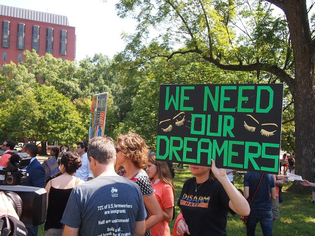 Immigrants file lawsuit over Trump adminstration's decision to end DACA