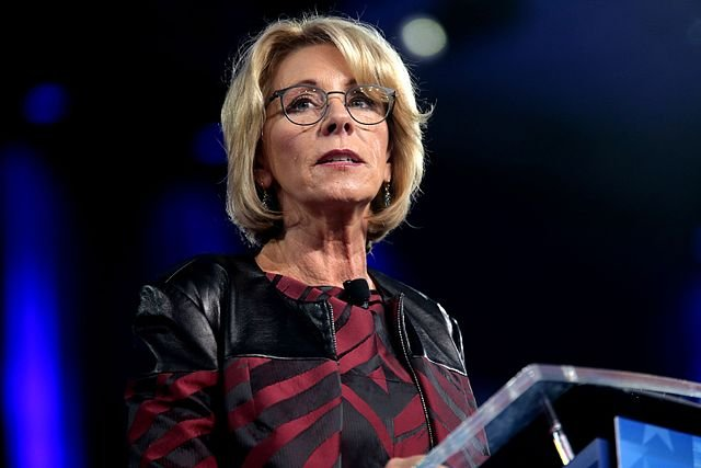 Federal judge fines Education Secretary Betsy DeVos for contempt of court