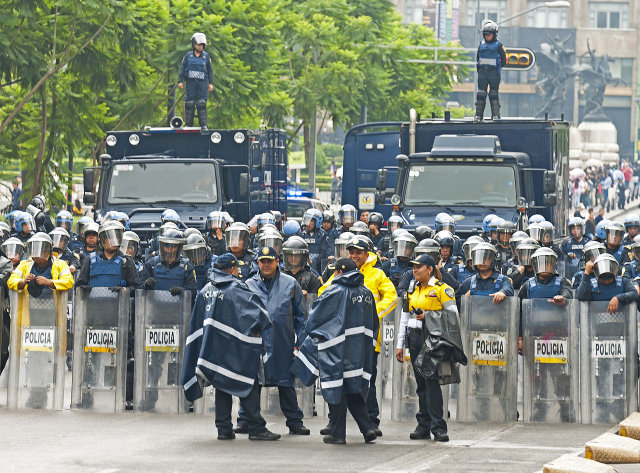 UN rights chief against proposed Mexico security legislation