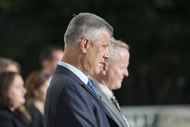 Kosovo President Hashim Thaci steps down to face war crimes charges