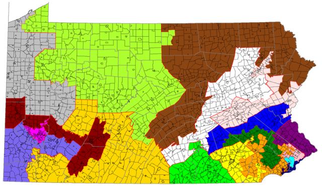 Pennsylvania Republican legislators sue to block revised district maps