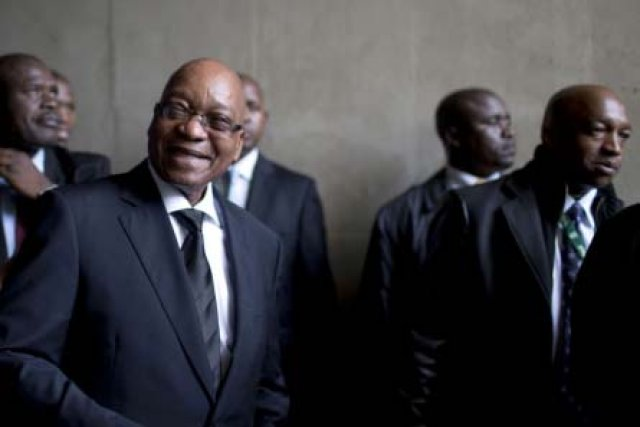 South Africa ex-president charged with corruption