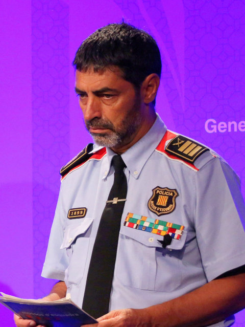 Former Catalan chief of police charged with sedition