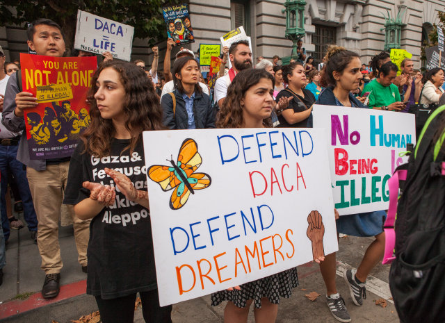 Federal judge reverses Trump administration decision to end DACA
