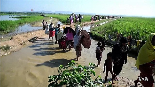 Rights group calls for arrests of Myanmar officials