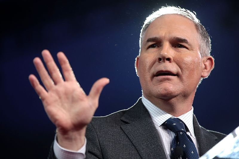 EPA administrator Pruitt resigns