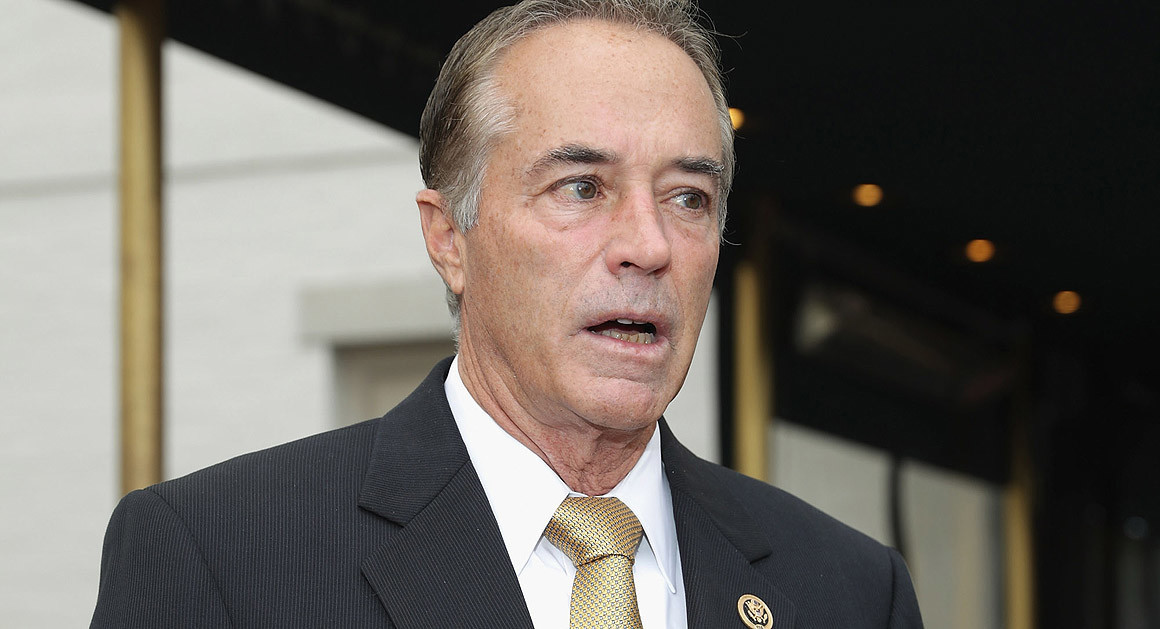 New York congressman charged with insider trading