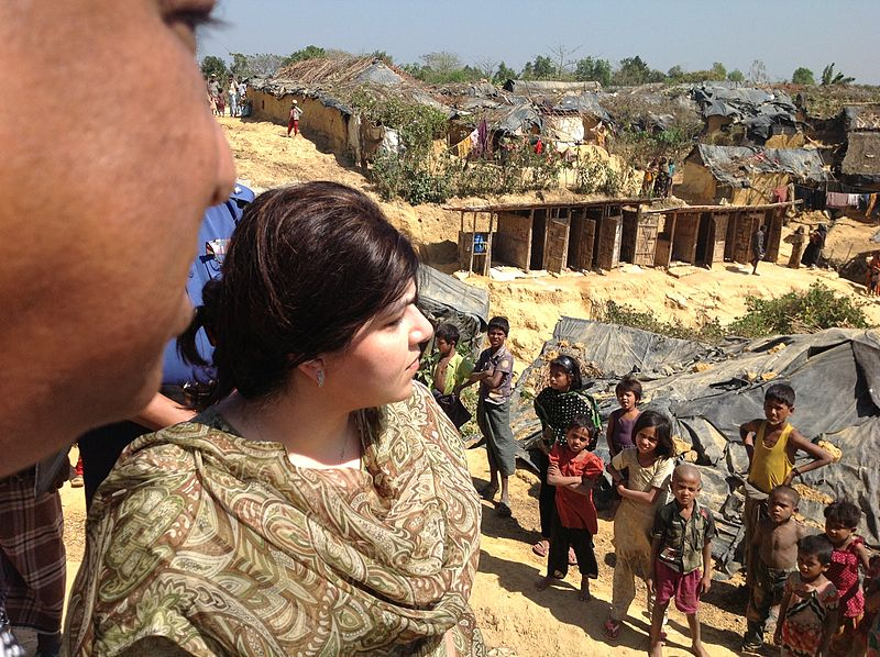 Rights groups urge Bangladesh to improve living conditions in Rohingya refugee camps