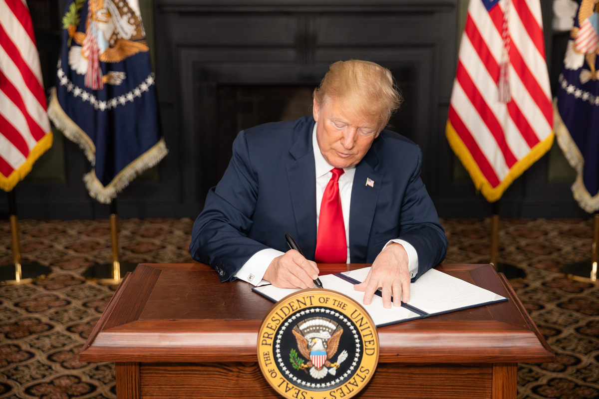 Trump signs $2 trillion stimulus package to combat COVID-19