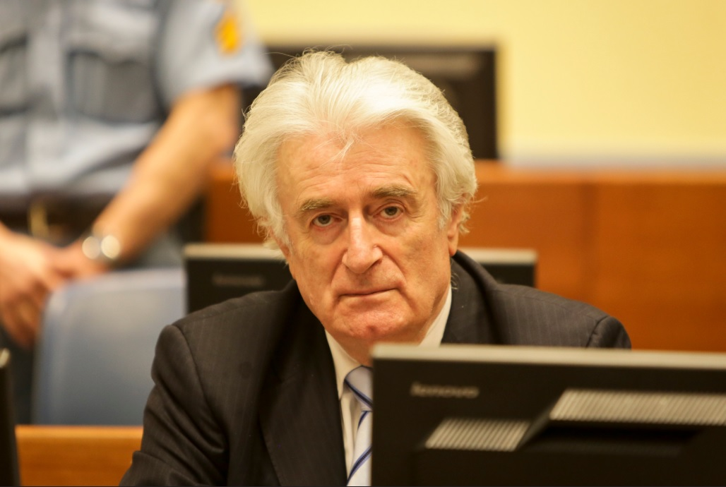 Radovan Karadzic sentenced to life in prison