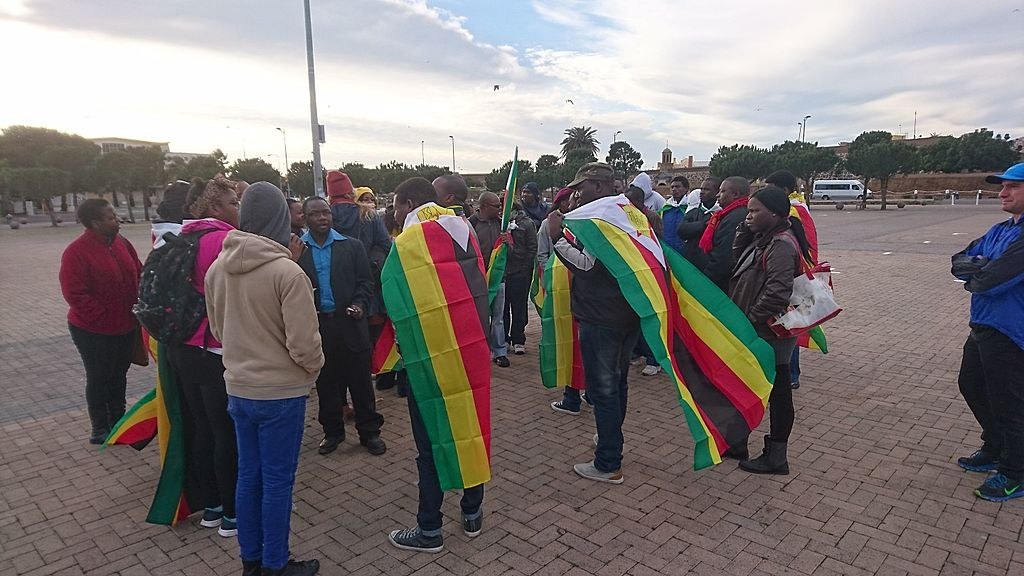 Zimbabwe high court overturns law banning demonstrations