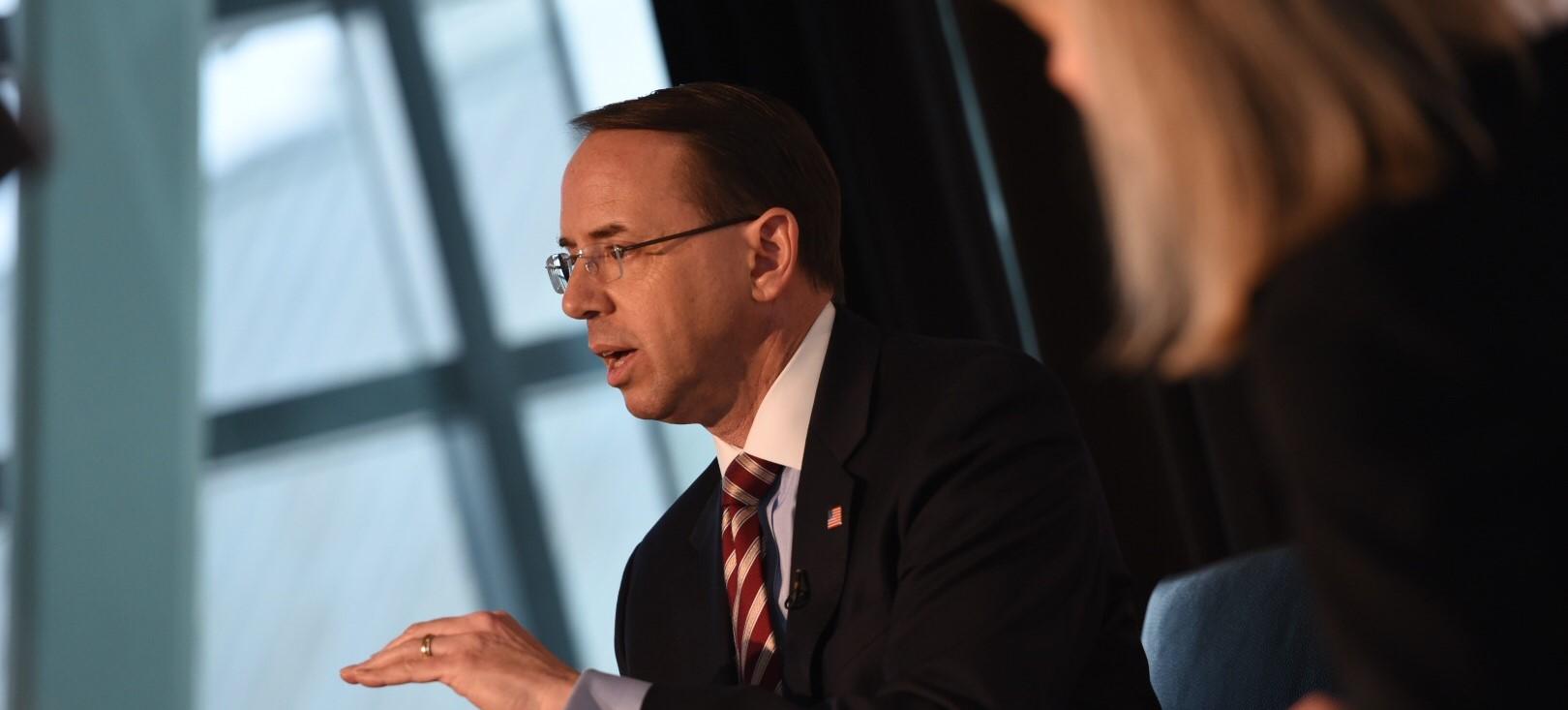 Deputy AG Rosenstein resigns