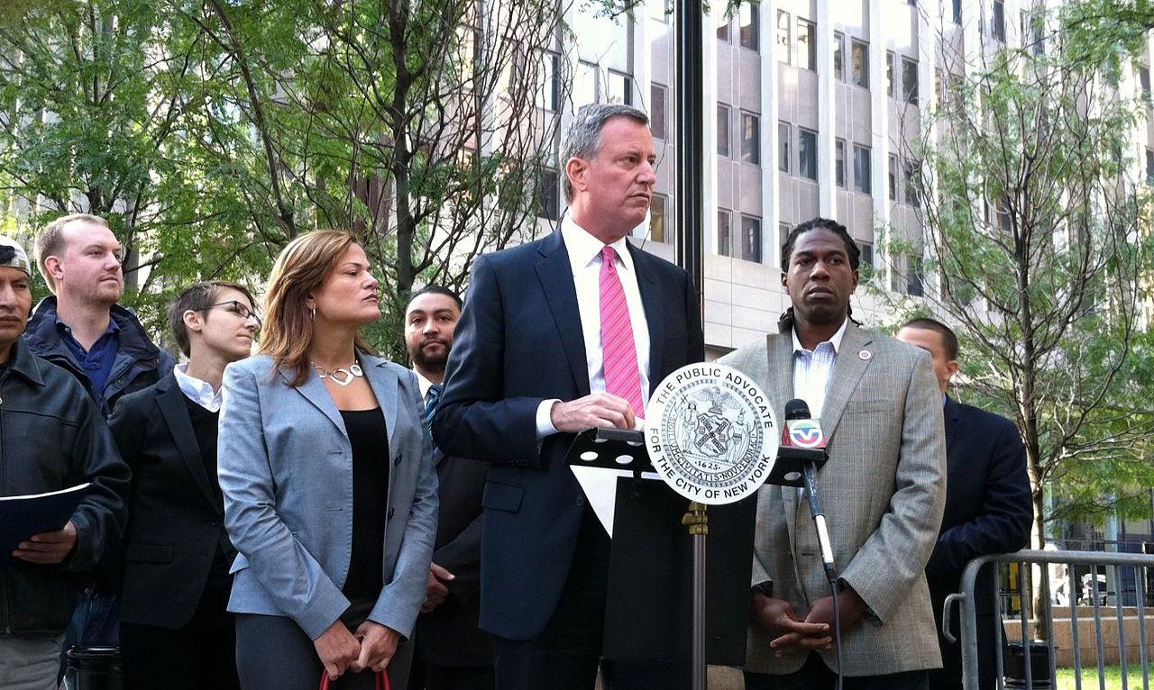 New York City mayor announces $100 million health care program